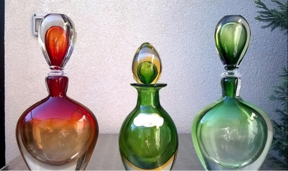 Vasi Vintage in vetro di Murano